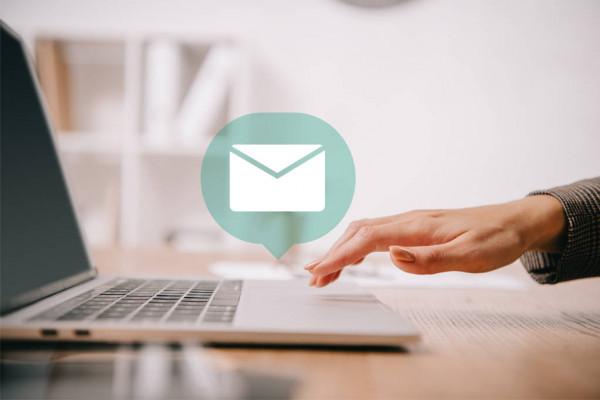 Envoi email télétravail