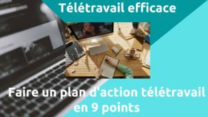 plan action télétravail